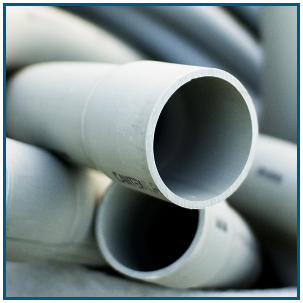 Tuberías y sistemas de evacuación (PVC)