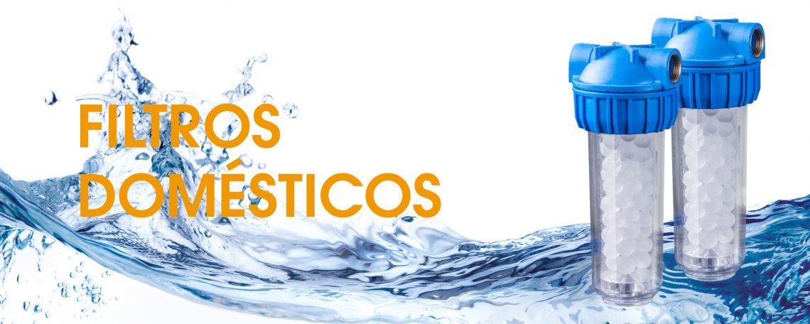 Filtros domésticos purificadores de agua